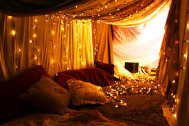romantic bedroom decorations with christmas lights