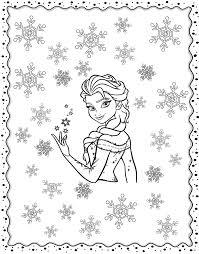La Reine Des Neiges Retour En Enfance Coloriages Difficiles