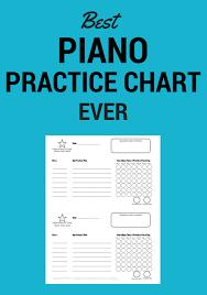 Piano Practice Chart Best Piano Practice Chart Ever My Fun Piano Studio