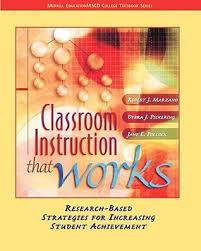 Classroom Instruction That Works Research Based Strategies