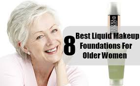 8 best liquid makeup foundations for older women