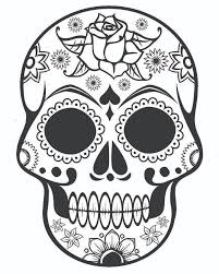 Small Picture Best Coloring Pages Roses Skulls Gallery New Printable Coloring