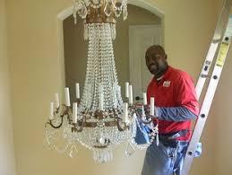 Chandelier & Light Fixture Cleaning