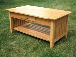 solid oak furniture mission oak coffee table mission style coffee table plans tables oak