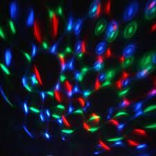 Mini Disco Ball Decorations Rotating LED Crystal Mini Disco Ball Stage Spot Light eFavorMart 24