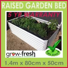 image is loading greenhouse colorbond diy raised planter box garden bed