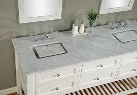 carrera marble countertops beauty