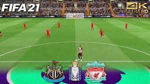 Newcastle United v Liverpool Premier League FIFA 21 Score Prediction (4K) -  YouTube