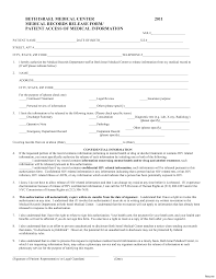 Medical Records Release Form Example Medical Record Form Template Complete Guide Example 9