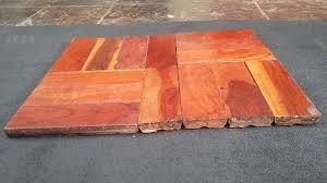 rhodesian teak top grade parquet flooring blocks huge varieties in stock