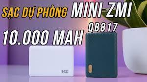Quá Hoàn Hảo! ZMI QB817 Pin sạc dự phòng 10000mAh mini Hỗ Trợ Sạc Nhanh cho  iPhone 12 !!!! - YouTube