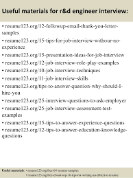 Effective Resumes Tips Unique Top 44 Rd Engineer Resume Samples