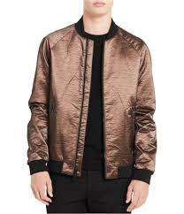 Calvin Klein Men S Coat Size Chart Details About Calvin Klein Mens Copper Bomber Jacket