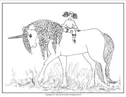 Unicorn Coloring Pages Kids Print Color 15341 Bestofcoloringcom