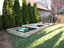 Small Picture Raised Vegetable Garden Stone Beds Gravel Paths Home Gardening