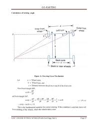 Go Kart Gear Ratio Chart Go Karting Project Report Degree Level