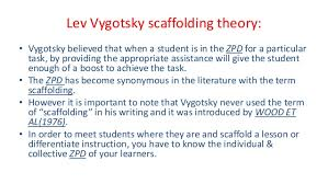 Scaffolding Definition Vygotsky Scaffolding Strategies To_use_with_your_students