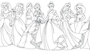 Printable Disney Princess Coloring Pages Fashionadvisorinfo