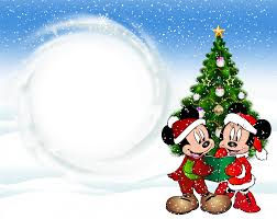 Christmas Photo Frames For Kids Christmas Kids Transparent Frame With Mickey Mouse