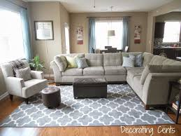Beautiful Rug Placement Living Room Designs Ideas