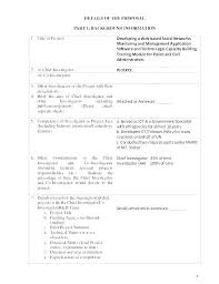 New Project Proposal Template Basic Project Proposal Template