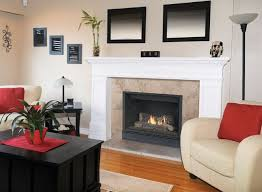 bring style and efficient heating to your existing wood burning fireplace with the madison park 34 contemporary design cd gas fireplace insert