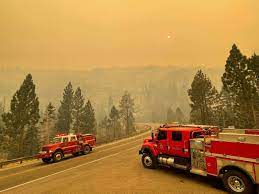 Caldor Fire approaches South Lake Tahoe ...