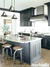 dark stained kitchen cabinets. Dark Stained Oak Cabinets Kitchen Elegant Staining Gray N