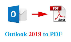 How To Export Emails From Outlook 2019 To Pdf Techslat