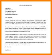 offer letter examples counter offer letter template word free min