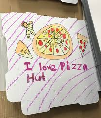Design Your Own Box Elementary School Fundraiser Design Your Own Pizza Box At