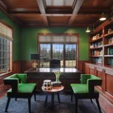 green home office. Unique Green Green Contemporary Home Office With Chairs In E