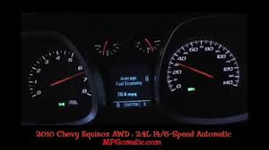 2010 Chevrolet Equinox AWD 0-60 MPH - YouTube