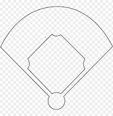Baseball Field Template Printable Baseball Diamond Template Printable Softball Field Clipart
