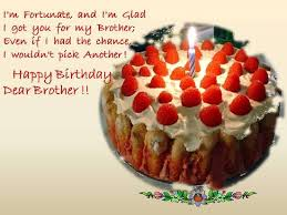 Birthday Wishes For Your Dear Brother Free For Brother Sister