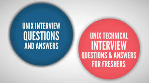 unix interview questions and answers freshers experienced