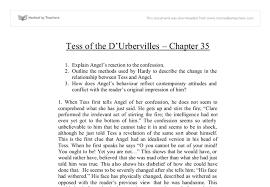 of the d urbervilles essay tess of the d urbervilles essay