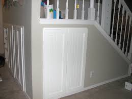image of under stairs doors half door half door leads to extra storage regarding under