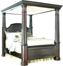 cheap canopy bed frame queen – cleech