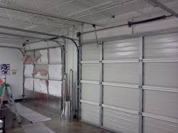 picture of make your garage energy efficient easy install of radiant barrier insulation to garage