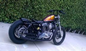 harley sportster custom rear fender hobbiesxstyle