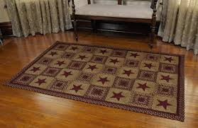 likeable ihf country star braided rugs on for kitchen