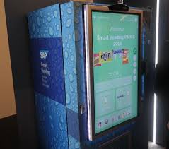 Smart Vending Machines Gorgeous Smart Vending Machine Scans Your Face To Serve Up Snacks Vending