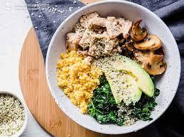 anti keto flu nourish bowl