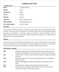 Education Resume Templates New 28 Education Resume Templates PDF DOC Free Premium Templates