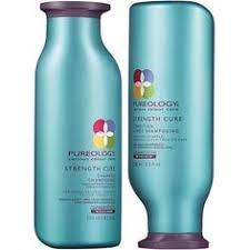 pureology strength cure shoo and conditioner duo 8 5 oz