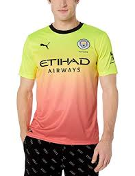 Puma Size Chart Football Shirt Amazon Com Puma Mens Manchester City Third Jersey 2019 20