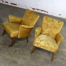 art moderne furniture. SOLD \u2013 Art Deco Or Moderne Pair Of Arm Chairs In Original Gold Brocade Furniture
