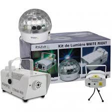 Laser Light Party Machine Astro White 3 Light Party Pack Set Led Laser Smoke Machine Dj Disco Fx