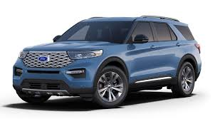 2020 Ford Explorer Color Chart Pictures Of All Ten 2020 Ford Explorer Exterior Color Options
